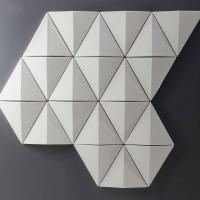 Nástěnné panely se dají skládat jako moduly. Bits Wall tak umožňují vytvářet kombinace v libovolných velikostech - barvách a vzorech, které si přejete.