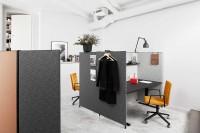 design navrhoval  Thomas Bernstrand.  Stěnový akustický systém charakterizovaný velkou pozorností k materiálům - a nevázaností, jedním z charakteristických znaků Thomase