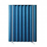 Modrý designový akustický paraván