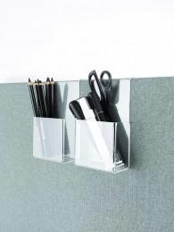 Různé příslušenství z průhledného akrylátu, zajistí odkladací plochu a zároveň zachová akustické vlastnosti