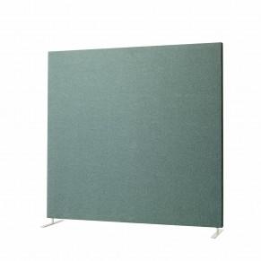 Podlahový akustické paraván lze mít jednotlivě, nebo je lze spojovat dohromady.