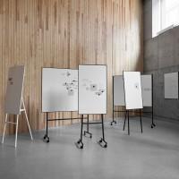 """Kolekce  přenosných a mobilních flipchartů """"One"""" je rozšířena o další prezentační tabule. Pro vybrané modely i v oboustranném provedení !"""