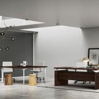 """Kancelářský nábytek může zapůsobit neformálně živě a zaskočit přívětivým vzhledem """"příchozí"""""""