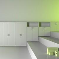 program řady Joy line je postaven na základě rozměru standardů DOX ( max. výška 35 cm ) a nabízí 5 výškových verzí : od 2 do 5 oddílů