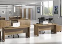 Glam G3, jedinečnost v kancelářském prostoru. Kancelářský stůl uzavřeného typu s prostými funkčními vlastnostmi na jakémkoliv místě