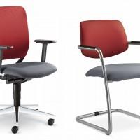 """Kolekce Theo@ zahrnuje jednací židle a otočné židle, které lze nakombinovat do oku lahodícího designu  """" získáte klidnější, jednotnější vzhled kanceláře"""""""