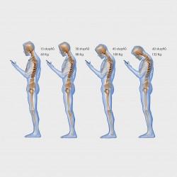 při obyčejném pozorování obrazovky mobilu, je naše tělo vystaveno zatížení, při kterém se opotřebovává