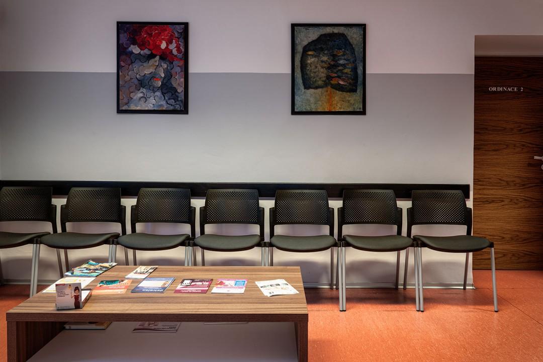 židle do čekárny a ordinace